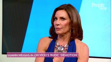 Luann de Lesseps Knows Vicki Gunvalson 'Will Be Just Fine' After Demotion to 'Friend' on RHOC
