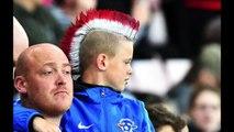 SAFC fans v Stoke City.