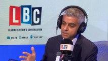 Sadiq Khan comments on Boris Johnson's divorce