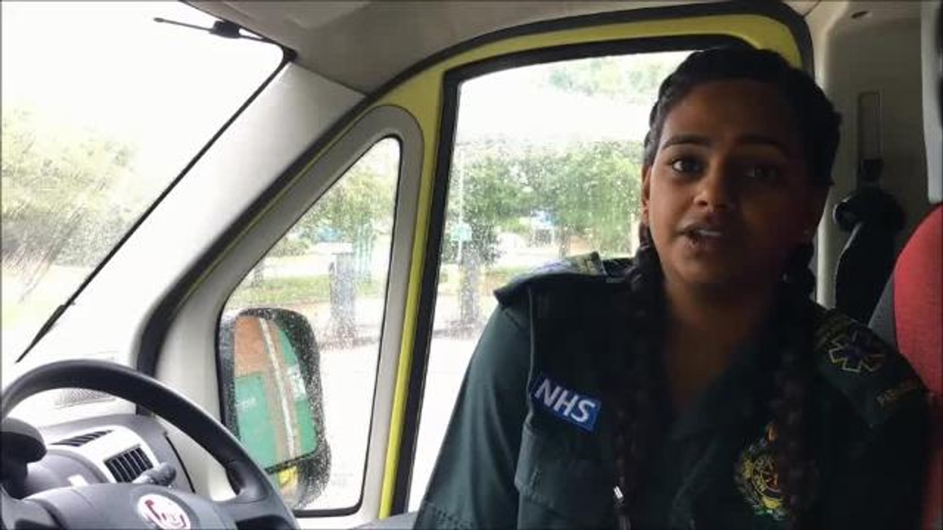 VIDEO: paramedic Asha Patel supports tougher sentencing for assaulting emergency staff