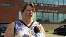 Eau potable: Rivière-du-Loup demande à ses citoyens de réduire leur consommation