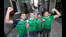 GALLERY: Northern Ireland fans in Sarajevo ahead of Nations League game