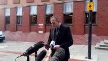 Det Chief Insp Ian Mottershaw, speaking outside Leeds Crown Court today