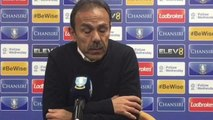 Jos Luhukay's reaction to Sheffield Wednesday 0 Norwich City 4