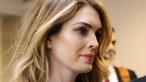 Did Hope Hicks Lie In Closed Congressional Interview?