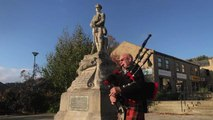 VIDEO: Bagpiper to play at Mytholmroyd War Memorial on Remembrance Day