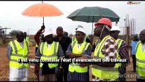 Lycée scientifique national de Ouagadougou  Le ministre de l'Éducation nationale sur le chantier des travaux
