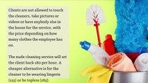Edinburgh woman, 25, starts up new Scottish naked cleaning business