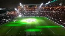 Celtic v RB Leipzig, Europa League, pre-match light show