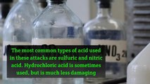 Facts About Acid Attacks in the UK
