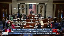 The House OKs minimum wage hike, Senate chances dim