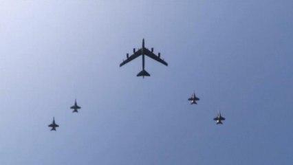 "U.S. Navy destroys Iranian drone in ""defensive action"""