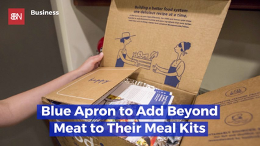 Blue Apron Creates More Meat (Fake Meat) Options