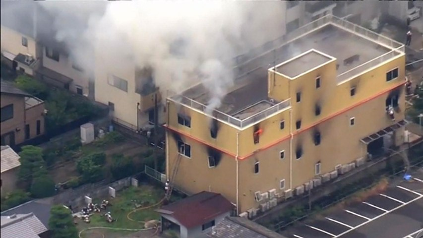 33 killed in fire at animation studio in Japan