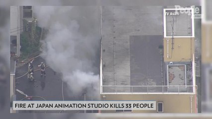 At Least 33 Killed After Man Allegedly Sets Fire to a Japanese Anime Studio