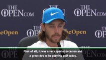 Fleetwood happy to contribute to 'special' Open Championship