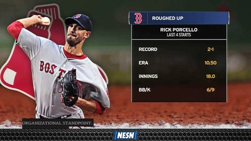 Rick Porcello Looks To Rebound After Four Consecutive Rough Starts