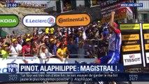 Tour de France: Thibaut Pinot et Julian Alaphilippe au sommet du Tourmalet