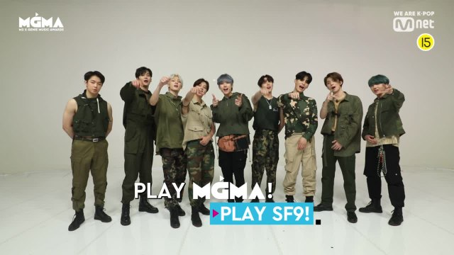 [PLAY #MGMA] SF9의 플레이리스트를 알려줘!