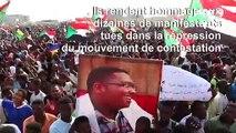 Des milliers de Soudanais dans la rue en hommage aux manifestants tués