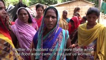 Hunger and despair for India flood victims