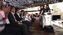 """""""Amables"""" robots raperos hacen limpieza en Singapur"""