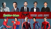 All Spider-Man then and now