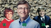 Bill Gates Transformation - From 3 To 61 Years Old