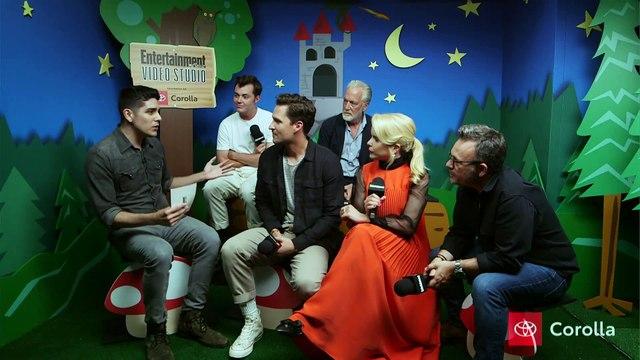 'Pennyworth' Stars Jack Bannon, Ben Aldridge & More Join Us LIVE   SDCC 2019   Entertainment Weekly