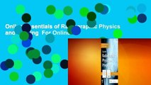 Online Essentials of Radiographic Physics and Imaging  For Online