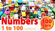 Learn Numbers 1 to 100 with Toy cars Disney cars Tayo Poli Toy story Spiderman Pokemon Star wars