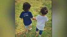 Taimur Ali Khan and Inaaya Naumi Kemmu enjoy walk together in park; Check out | FilmiBeat