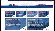 """Tutoriel fonctionnalités """"mon compte"""" du site de l'Assemblée nationale pour le grand public - Jeudi 18 juillet 2019"""