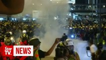 Hong Kong protesters dig in for summer of discontent