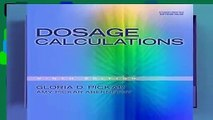 [BEST SELLING]  Dosage Calculations (Available Titles 321 Calc!dosage Calculations Online)