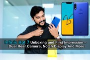 Infinix Hot 7 Unboxing and First Impression – Dual Rear Camera, Notch Display And More