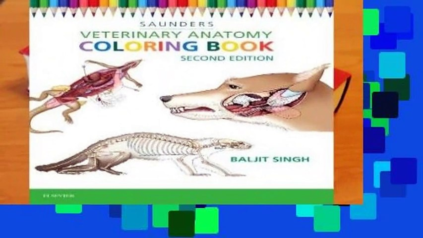 About For Books Veterinary Anatomy Coloring Book Review - Video Dailymotion