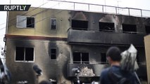 Aftermath of deadliest fire in Japan for 18 years: 33 dead in Kyoto Animation arson attack