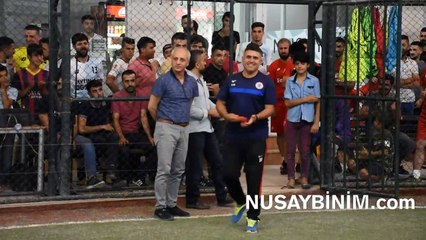 Nusaybin Dağar Halı Saha Dostluk turnuvası finali