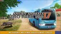 Angry Animals Zoo Park Transporter Bus SIM - Bus Driver Simulator - Android Gameplay