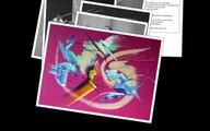 Peintures abstraites  Tableaux contemporains 3/4   Artiste peintre Martine BELFODIL