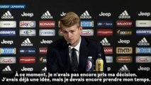 Matthijs de Ligt revient sur sa rencontre avec Cristiano Ronaldo