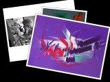 Peintures abstraites  Tableaux contemporains 4/4   Artiste peintre Martine BELFODIL