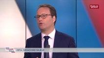 CETA: «Le protectionnisme, c'est la guerre», alerte Sylvain Maillard