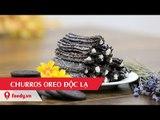 Hướng dẫn cách làm bánh churros oreo - Churros Oreo