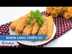 Huong dan cach lam Khoai lang chien xu Deep fried