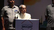 Pranab Mukherjee Says Congress Contributed To $5 Trillion Economy