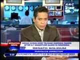 Solidum: Tsunami will not affect PH