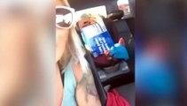 Mujer vigila a ladrones, recupera su coche robado y lo cuenta en directo