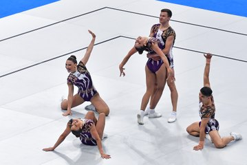 REPLAY - 2019 European Games - Trampoline synchro women, individual men and Aerobics groups finals